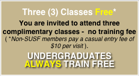 Three (3) Classes Free*